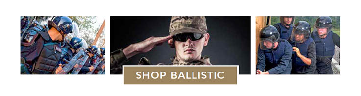 ballistic military grade protection