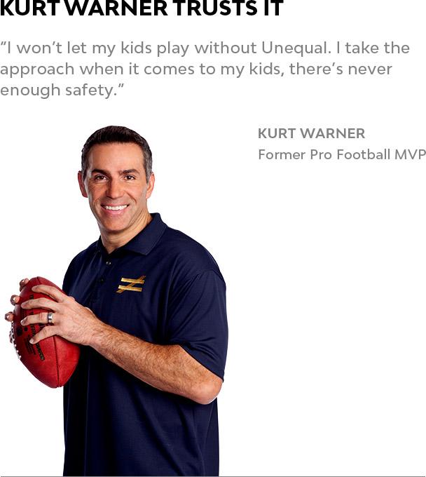 Unequal Kurt Warner Protective Football Gear