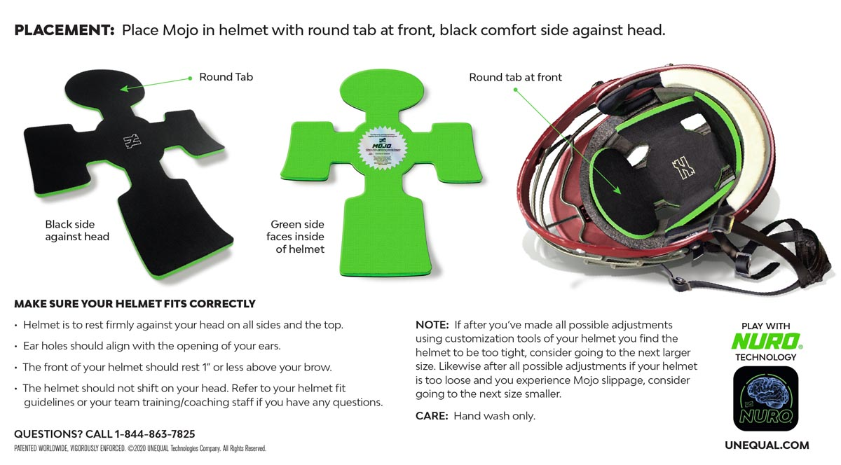 pro-athlete-helmet-liner-concussion-prevention-mojo-instructions