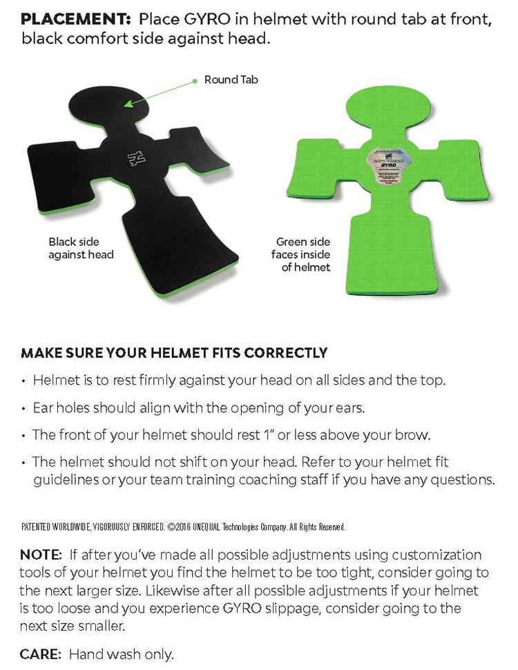 top-football-helmet-insert-liner-head-protection-instructions